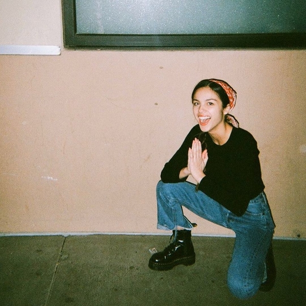 Olivia Rodriguez - with a Printed Bandana