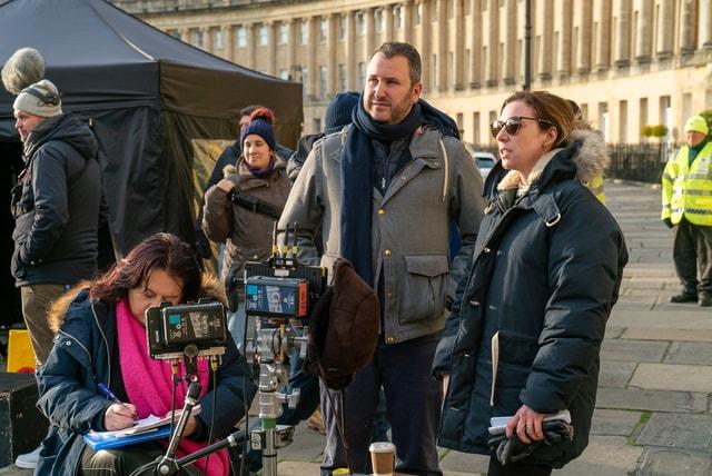 Bridgertton - Behind the Scene crew