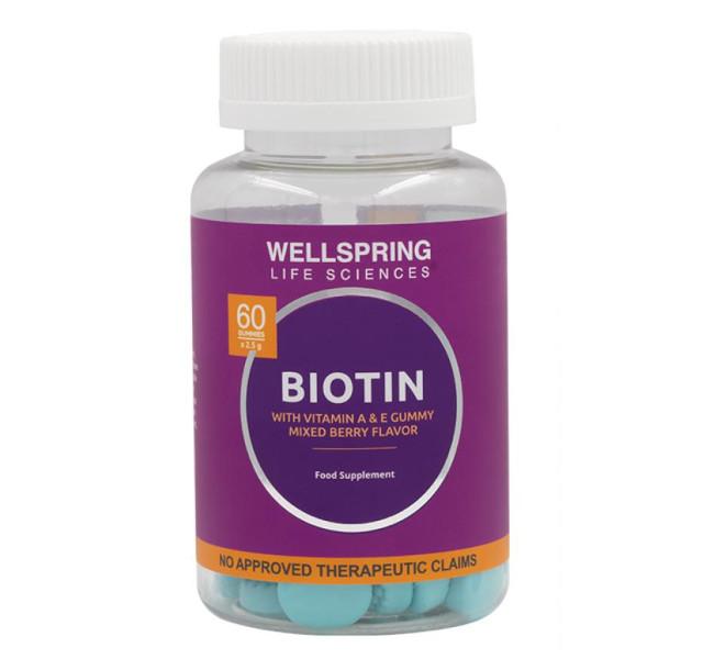 Best Hair Vitamin: Huga Nutrition Wellbeing Biotin