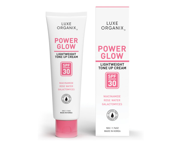 Luxe Organix Power Glow Tone Up Cream SPF30