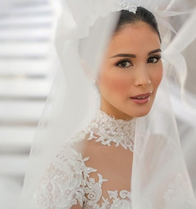 Best Wedding Makeup Idea: Heart Evangelista's Sophisticated Bridal Makeup Look