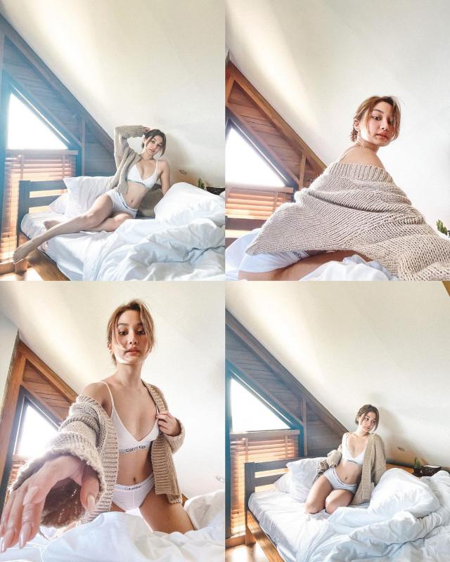 Chie Filomeno Low-Key Sexy Instagram Pose