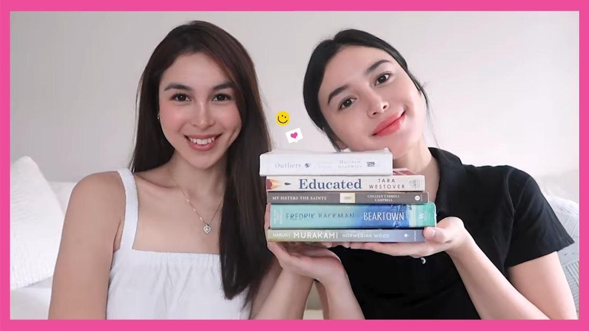 Julia Barretto and Claudia Barretto share must-read books for 2021