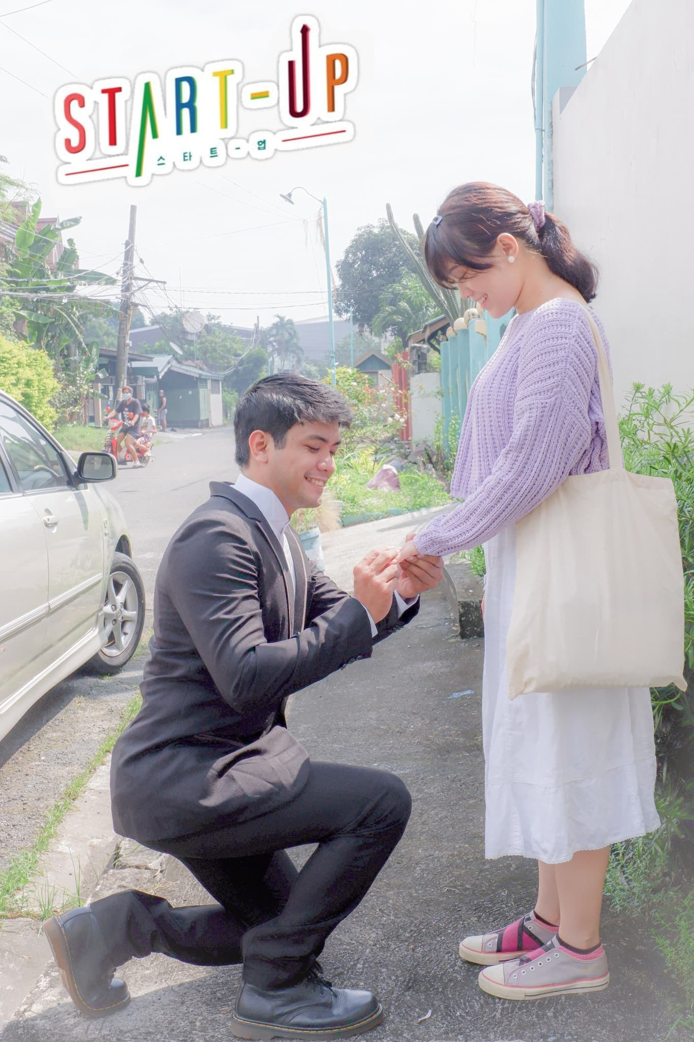 Pinoy couple's Start-Up-inspired prenup shoot