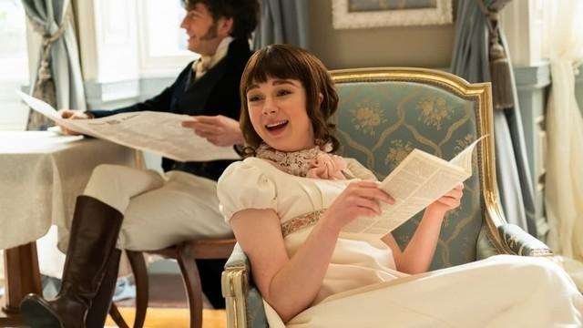 A happy Eloise Bridgerton