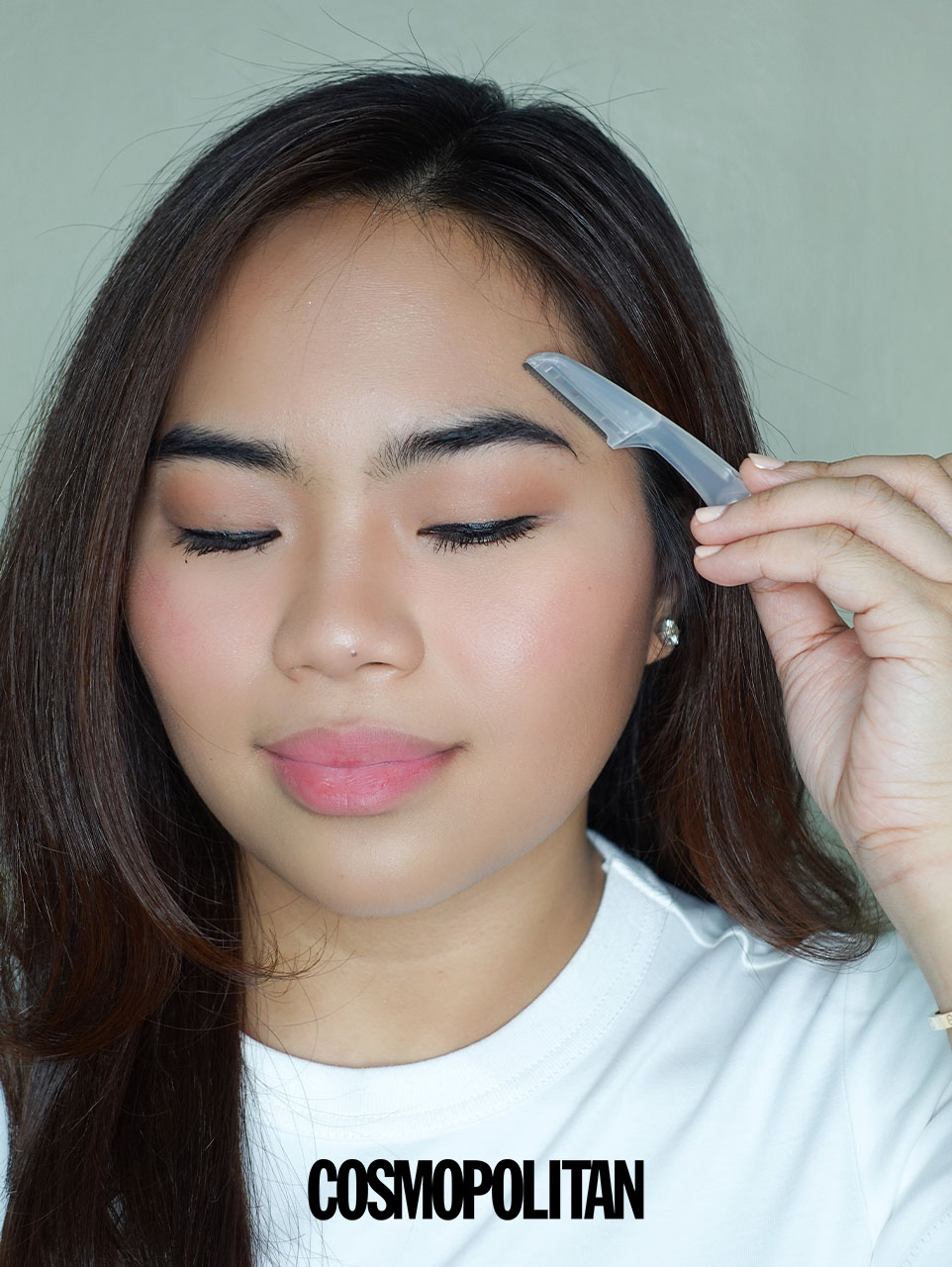 Easy 5-Step Routine For Bushy Brows - Clean up the area.