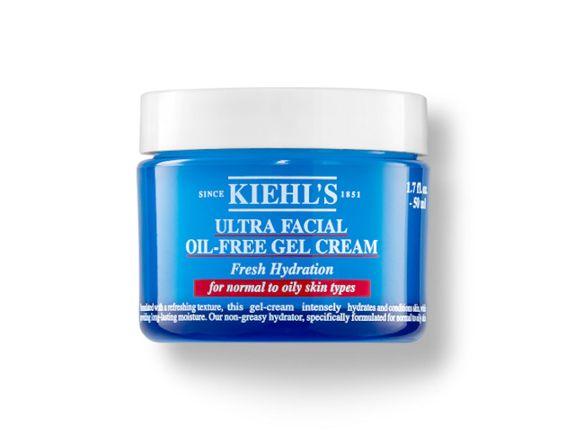 Makeup for acne: Kiehl's Ultra Facial Oil-Free Gel Cream