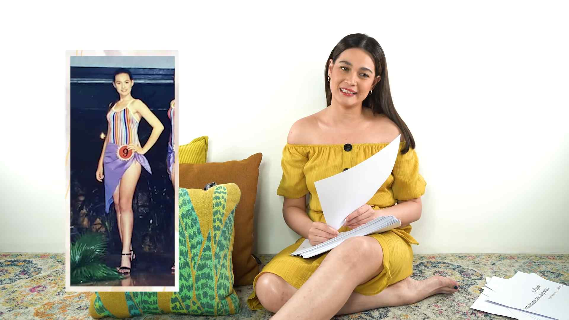Bea also revealed that she was scouted in a beauty pageant back in 2001.