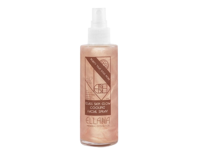 Ellana Glass Skin Glow Cooling 3-In-1 Facial Mist With Mandarin Extract