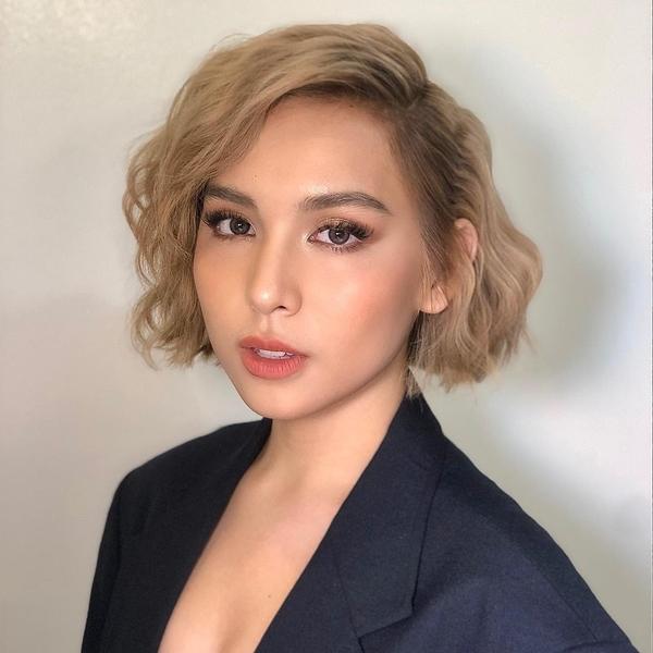 Kyline Alcantara blonde hair