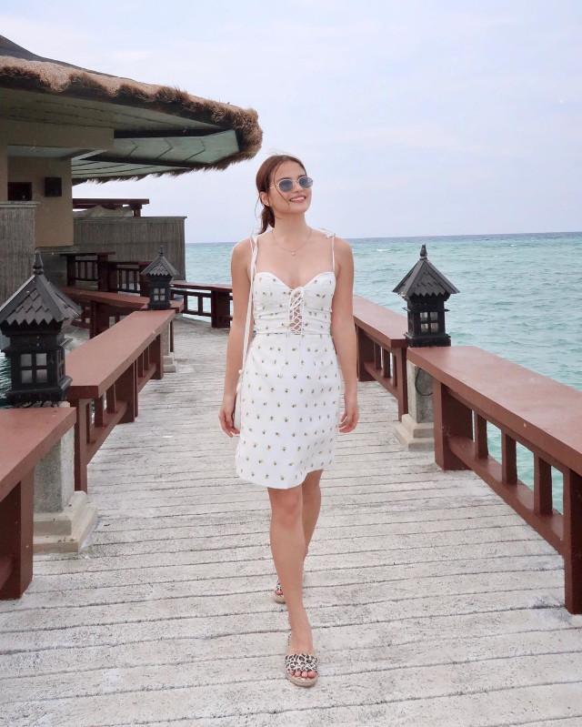 Elisse Joson White Outfit Ideas