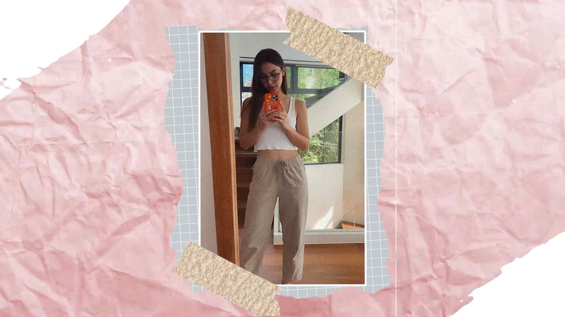 Julia Baretto's most worn clothes - lounge pants