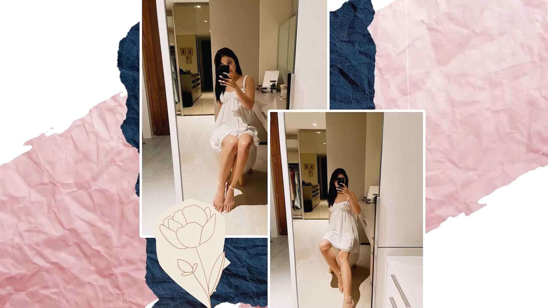 Julia Baretto's most worn clothes - little white dress