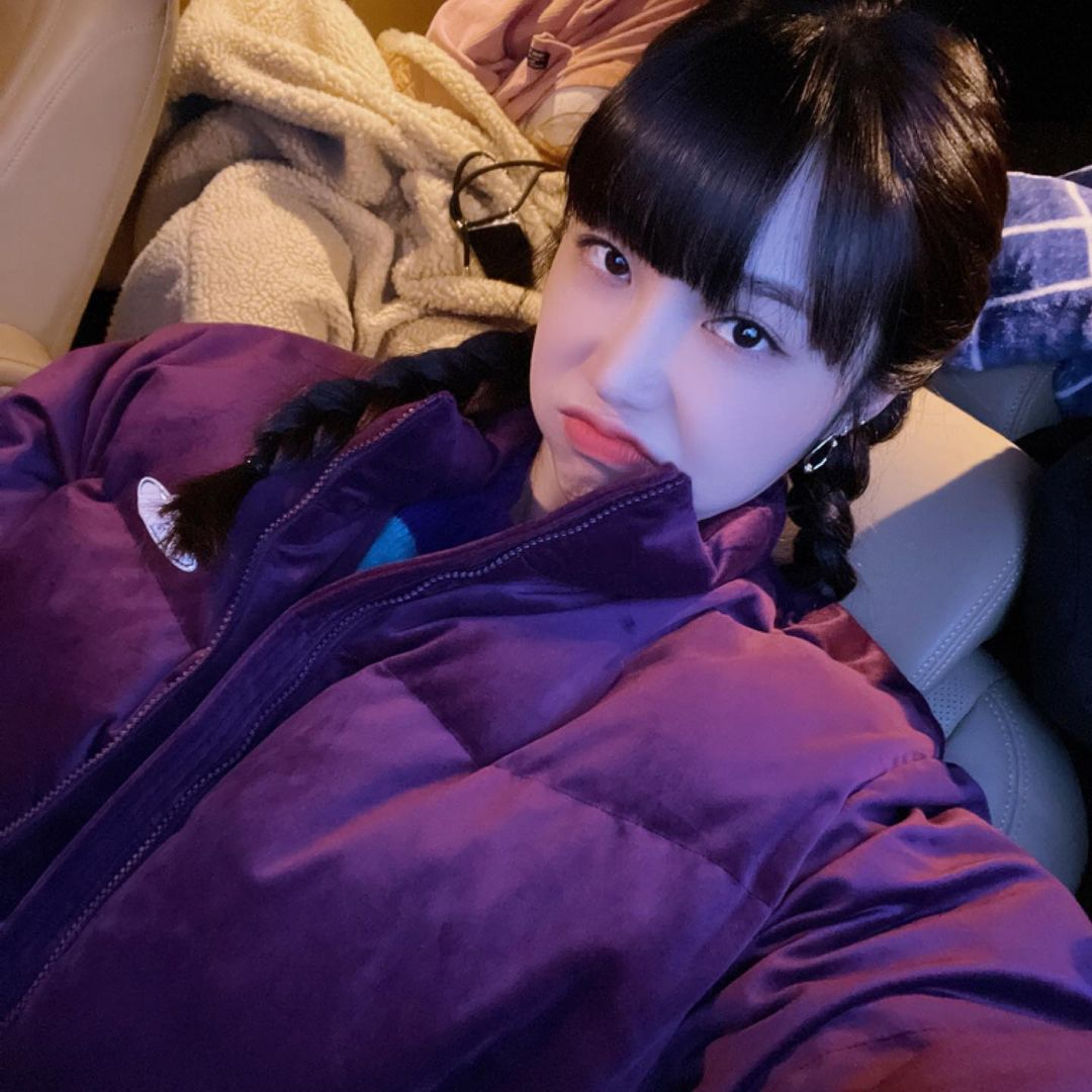 Jung Eun Ji's Instagram account