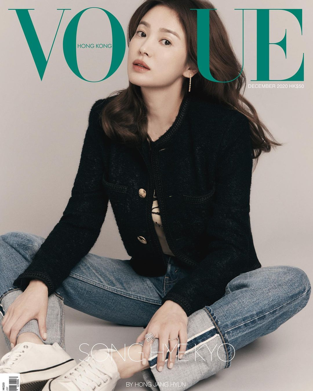 Song Hye Kyo for Vogue Hong Kong