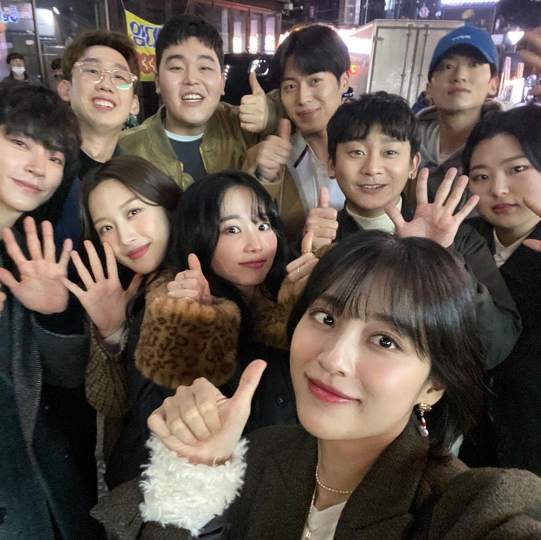 True Beauty Saebom High School students