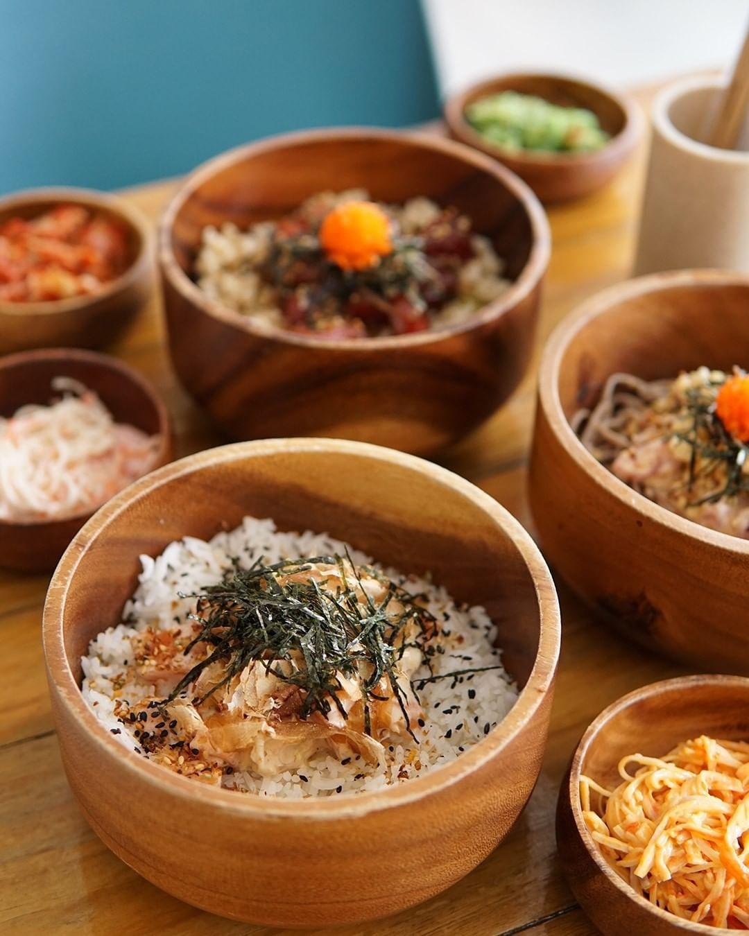 Poke bowl from Ono Poke PH