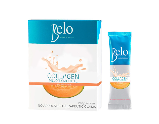 Vitamins for Skin: Collagen and Melon Smoothie from Belo Nutraceuticals
