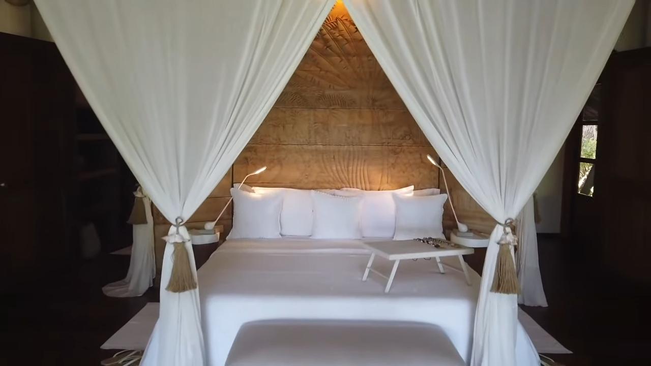 Rei Germar Siargao vlog: Nay Palad, villa bedroom
