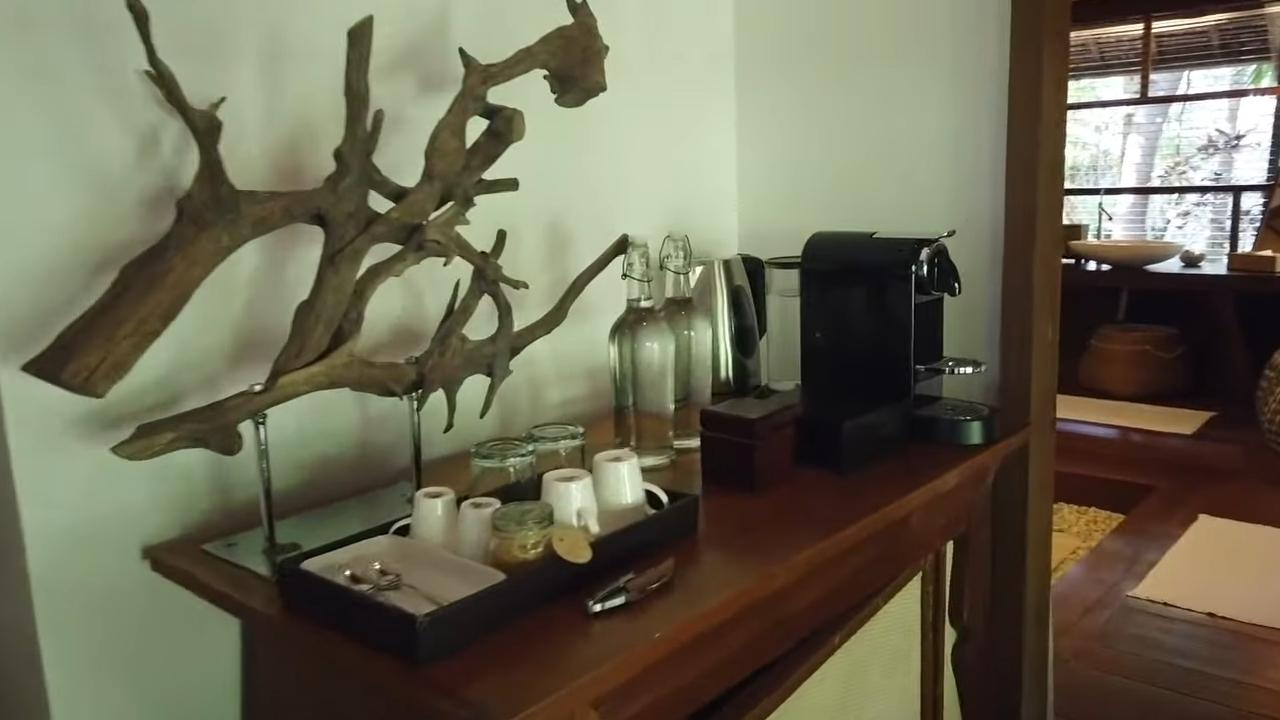 Rei Germar Siargao vlog: mini bar in Nay Palad villa