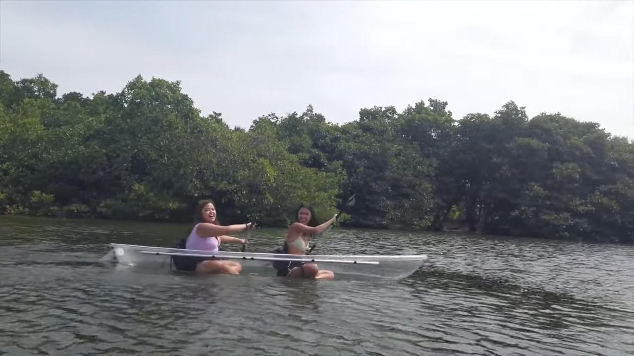 Rei Germar Siargao vlog: Kayaking at Nay Palad