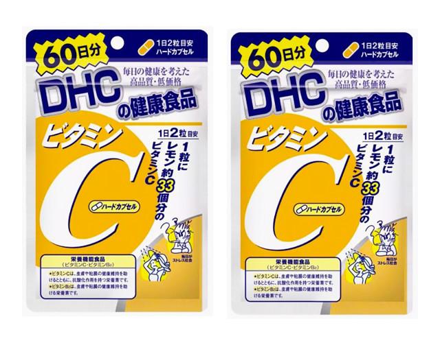 skin vitamins: DHC Vitamin C