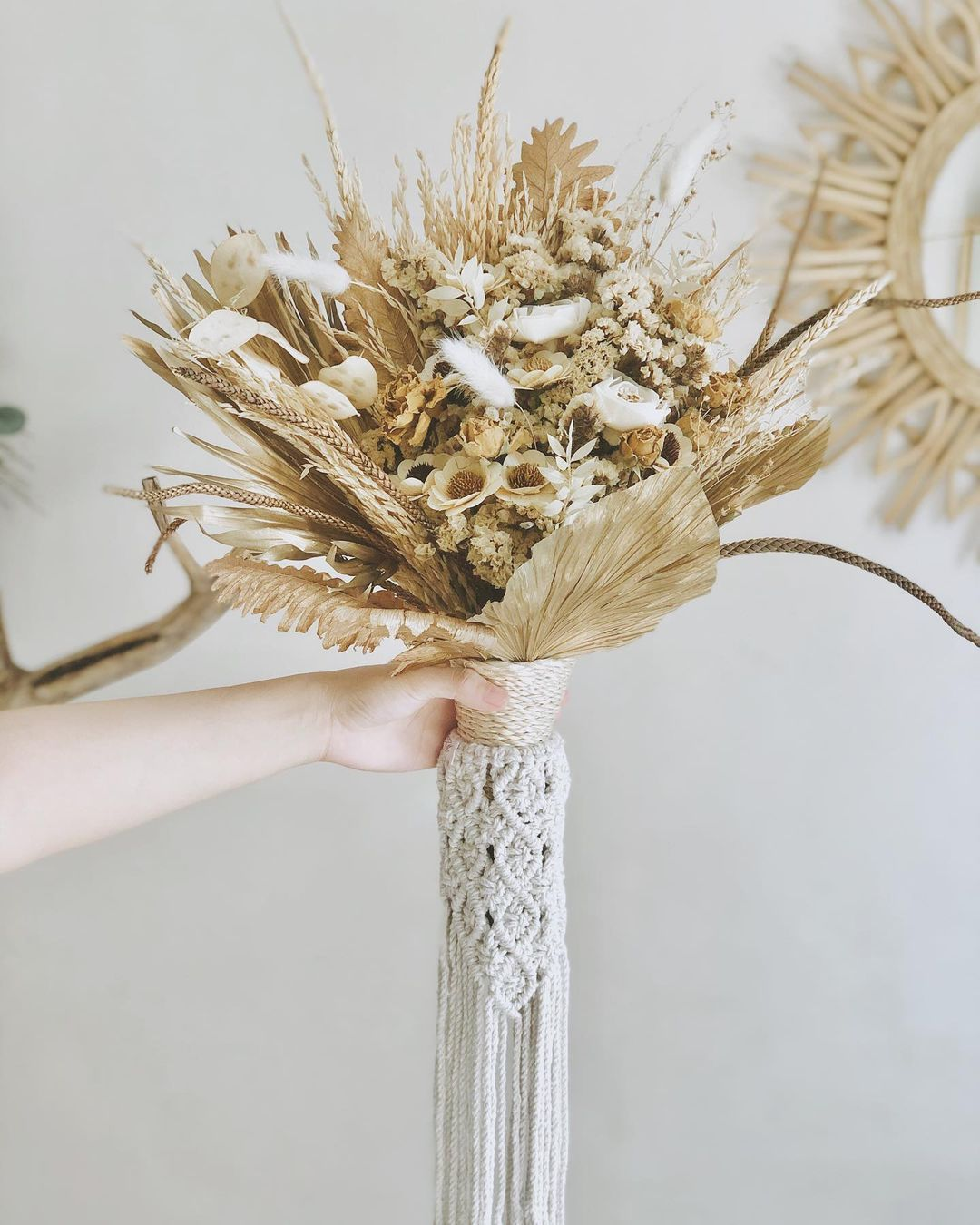 Dried flowers from online store Hygge Living PH