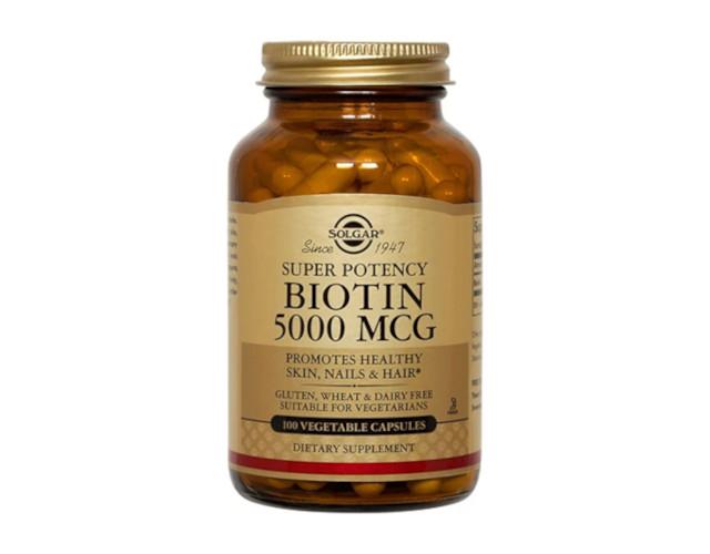 Vitamin for the skin, Solgar Biotin