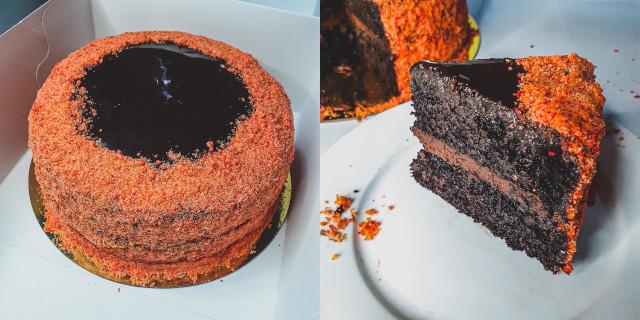 Cielle's Whisk Choco Butternut Overload Cake
