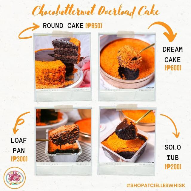 Cielle's Whisk Choco Butternut Overload Cake Price List