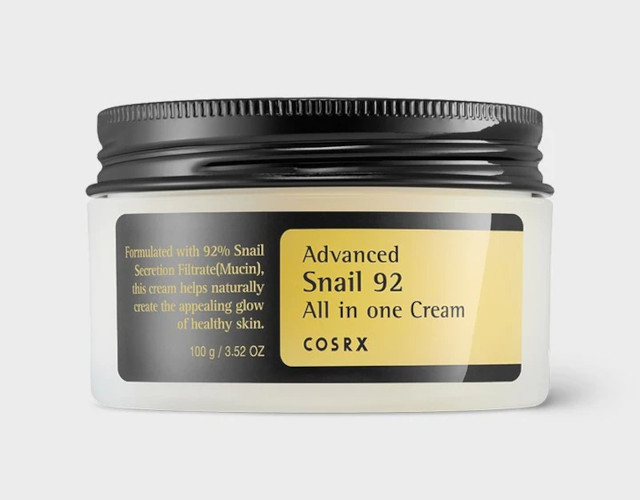 Best moisturizer for oily skin: COSRx Advanced Snail 92 All In One Cream