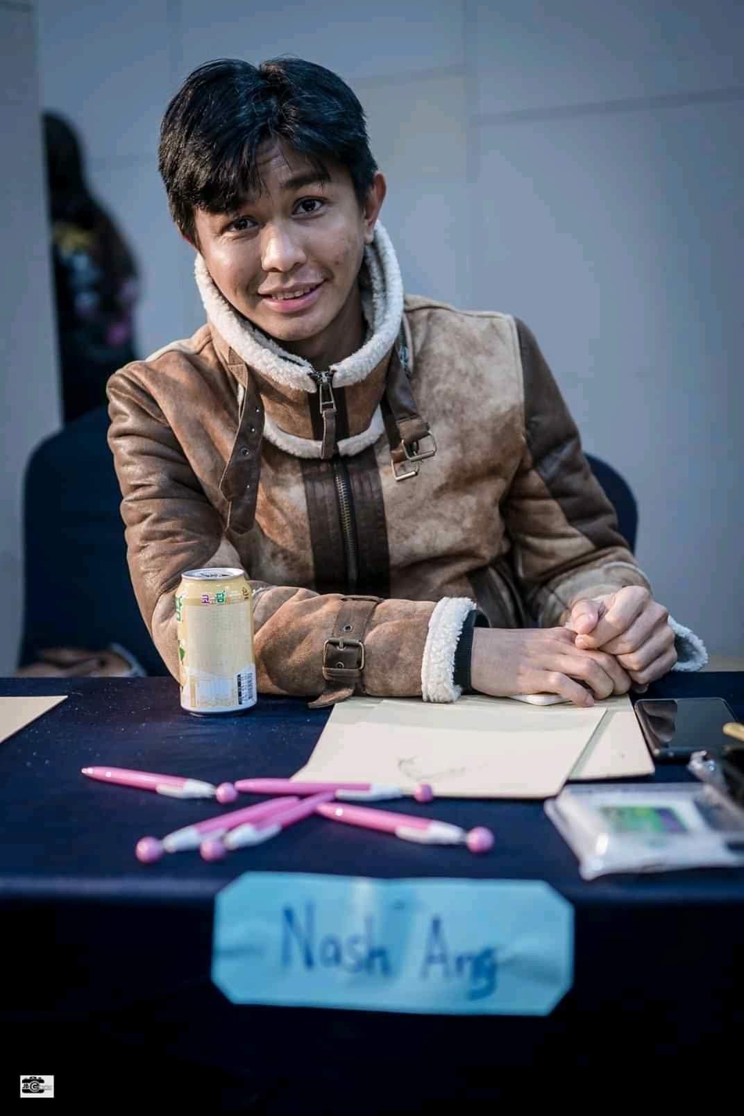 Nash Ang, Filipino filmmaker in South Korea