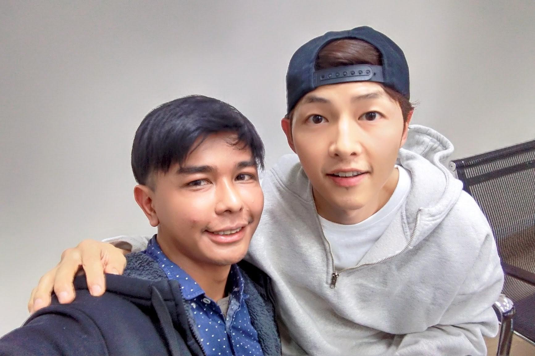 Nash Ang with Song Joong Ki