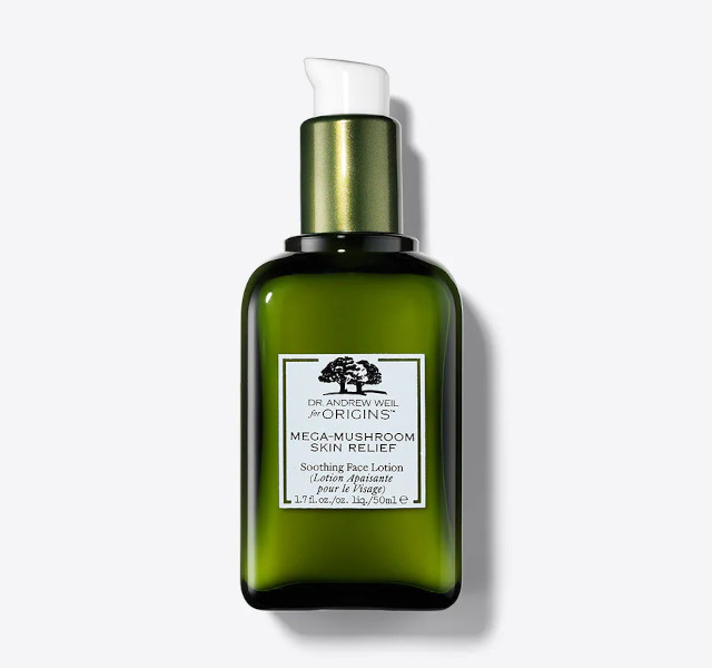 Best moisturizer for oily skin: Origins Dr. Andrew Weil Mega Mushroom Soothing Face Lotion