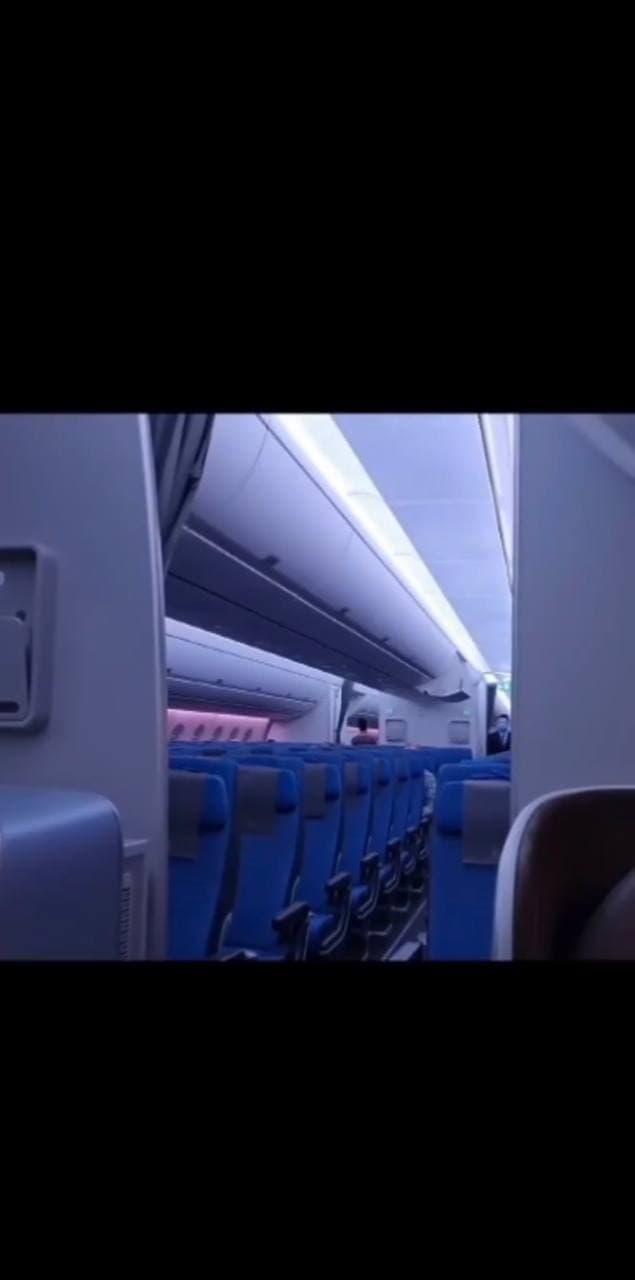 Flight back to manila