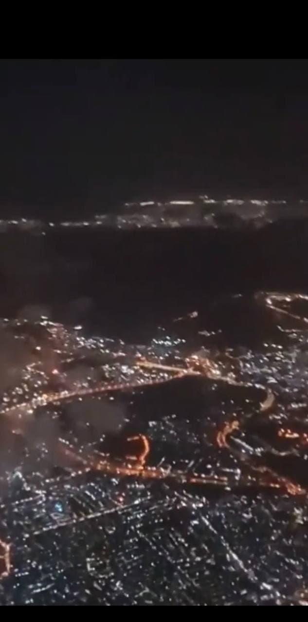 City night light of Metro Manila
