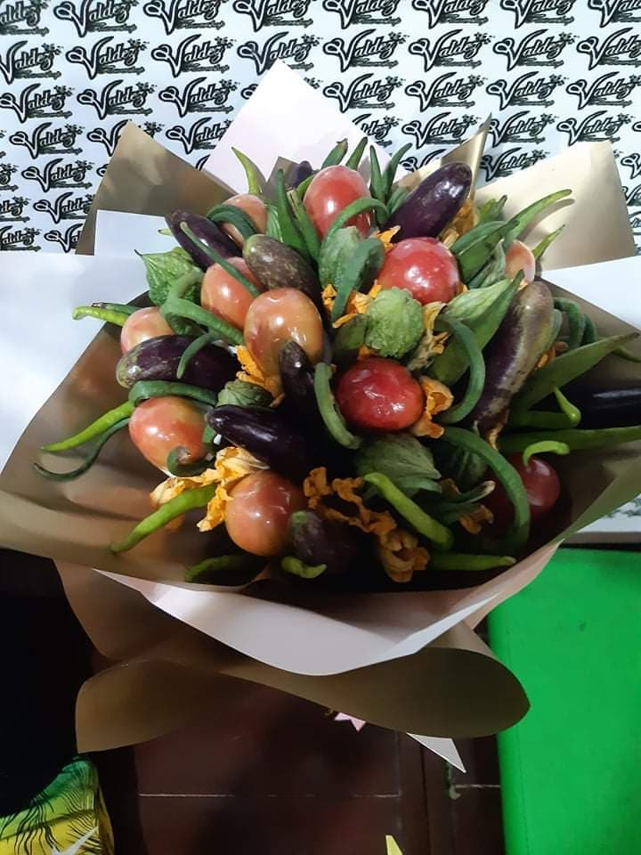 unique bouquet: pinakbet bouquet