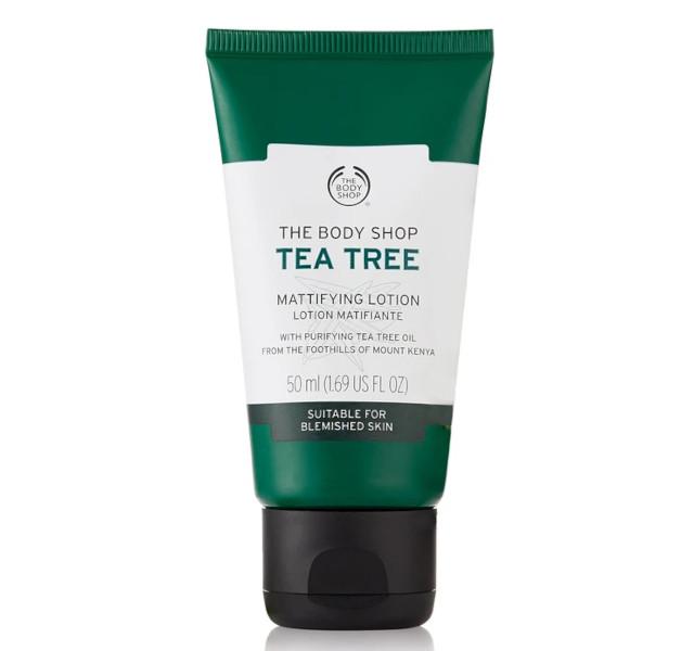 Best moisturizer for oily skin: The Body Shop Tea Tree Oil Mattifying Moisturizer