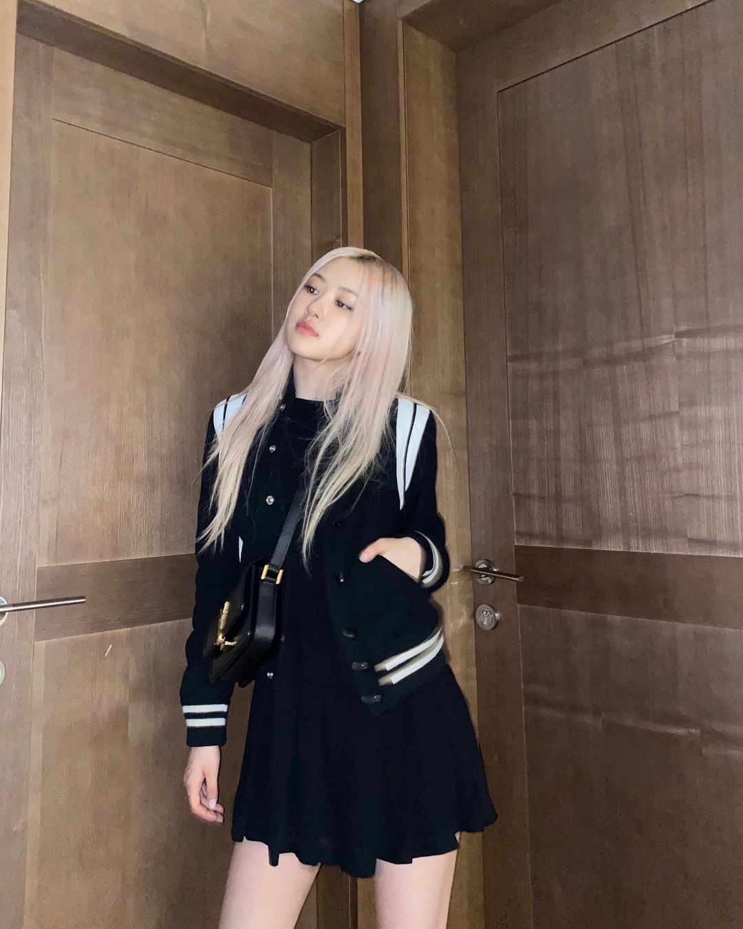 BLACKPINK Rosé in YSL