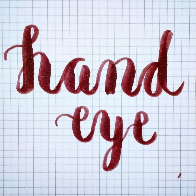 Bea Reyes: first attempt at lettering
