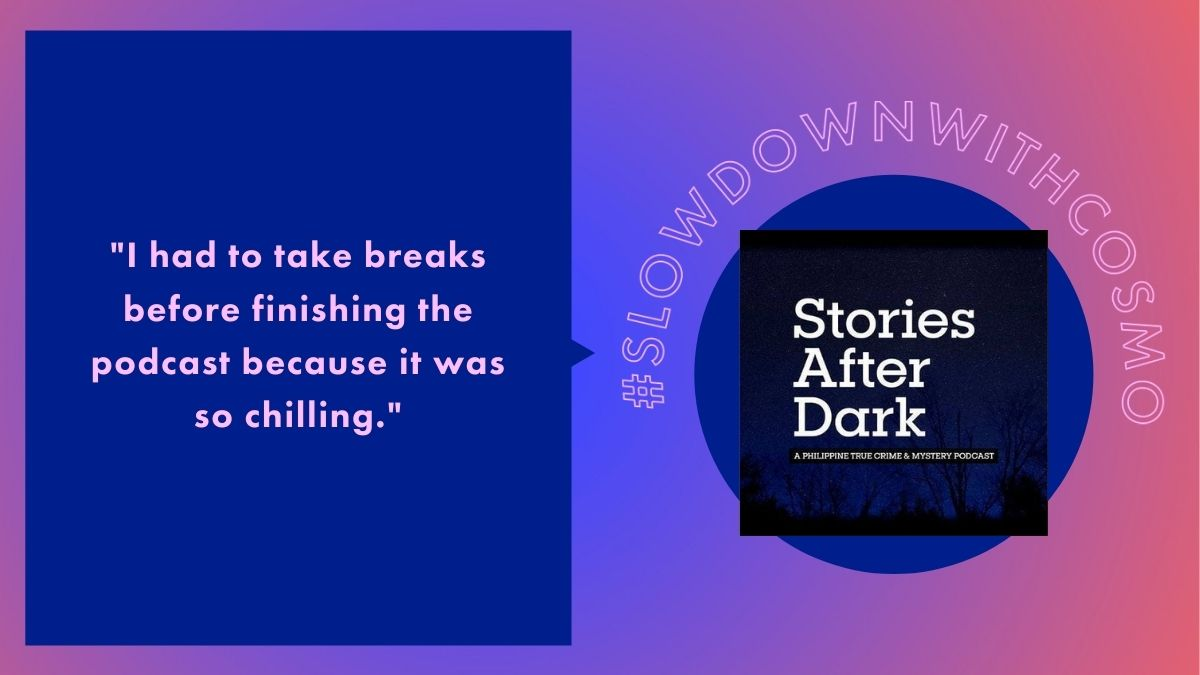 Slow Down With Cosmo: Stories After Dark podcast review