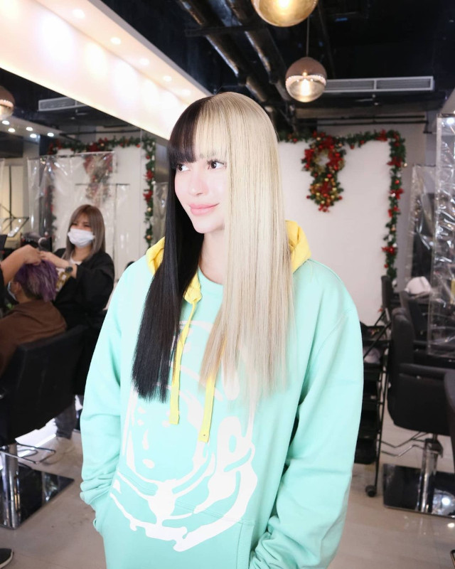 Hairstyle with bangs: Arci Munoz