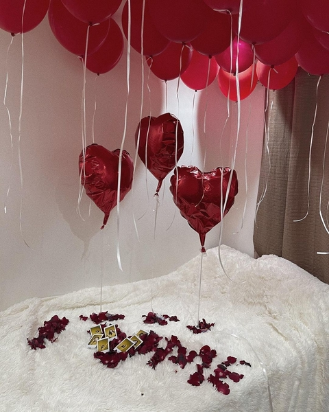 Maris Racal surprised herself for Valentine's Day