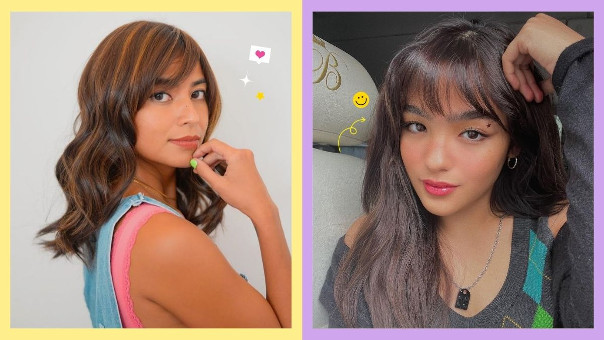 Pinay celebs with bangs