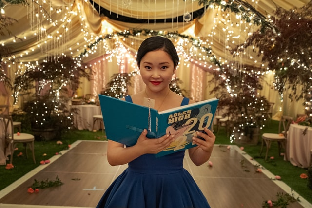 lana condor as lara jean covey