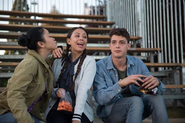 lara jean, josh, and margot