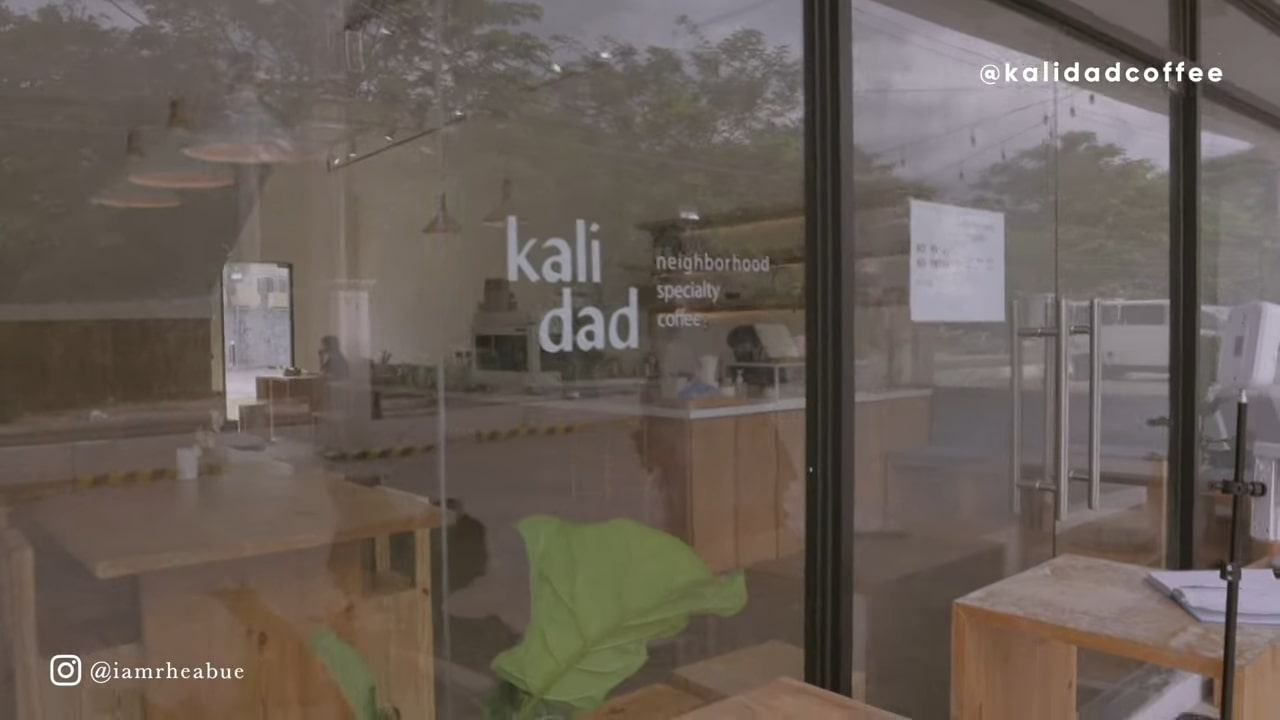 Minimalist cafe: Kalidad Coffee in Pampanga