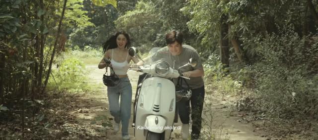 Julia Barretto and Joshua Garcia in Moira Dela Torre's 'Paubaya' music video
