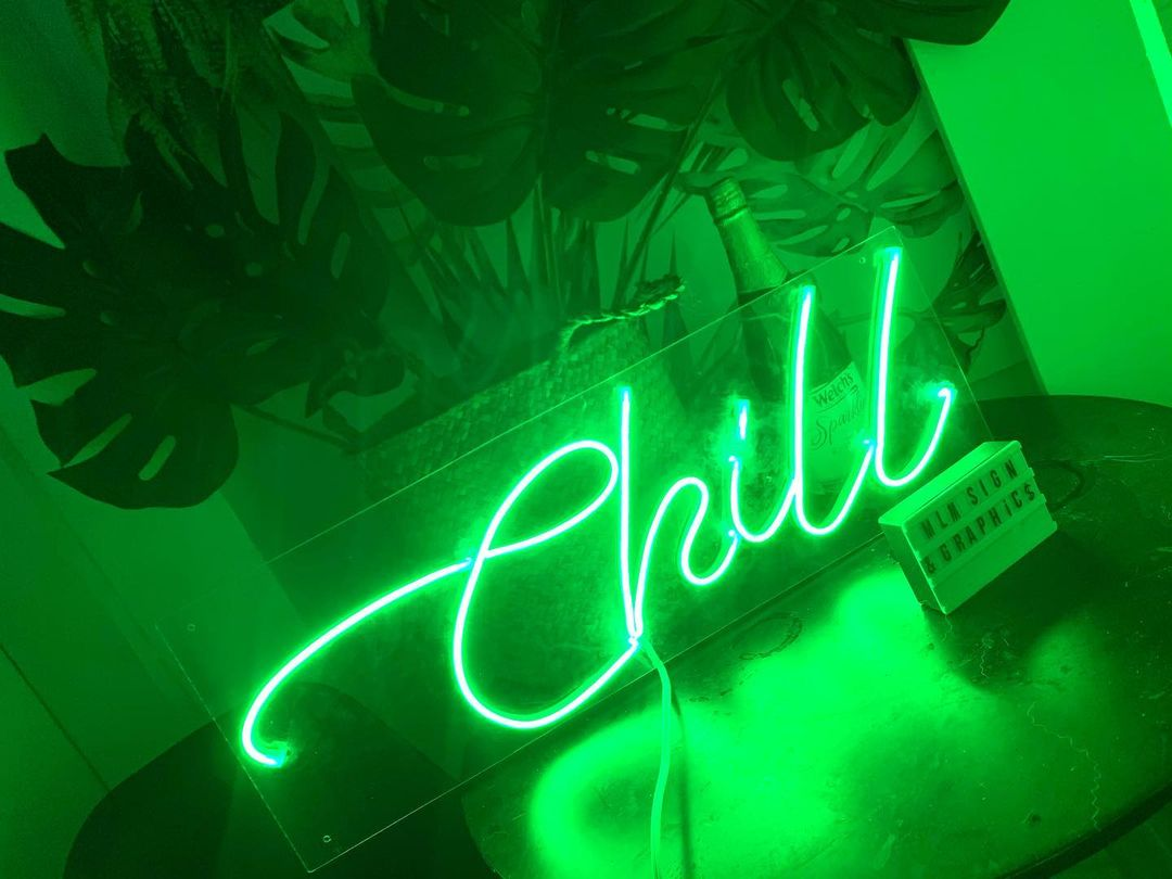 Neon lights from MLM Signs & Graphics