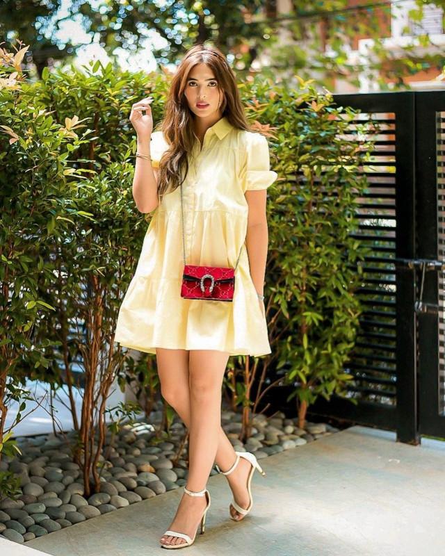 Sofia Andres: Yellow Dress